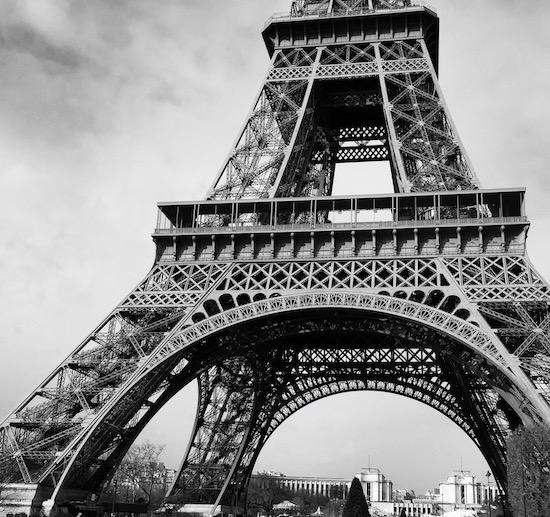Eiffel Tower Paris France Wandering Chocobo