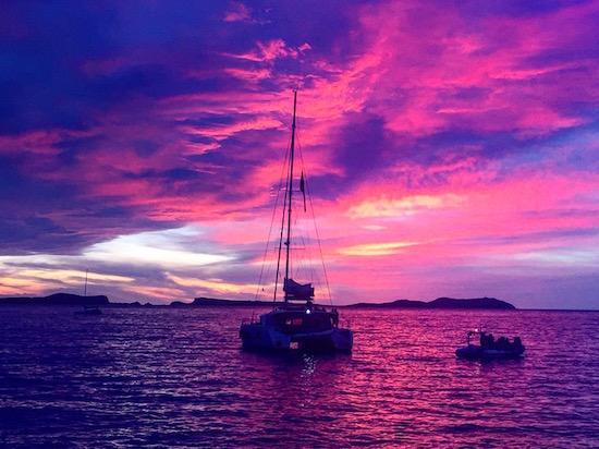 Ibiza Sunset Cafe Del Mar