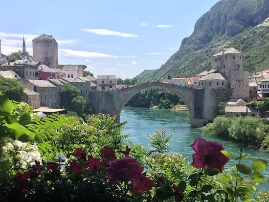 Mostar Bridge Bosnia Wandering Chocobo