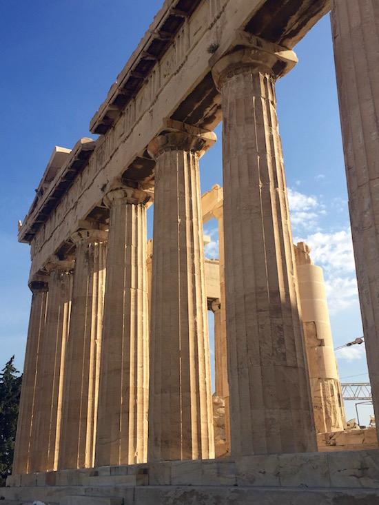 Parthenon Acropolis Athens, Greece