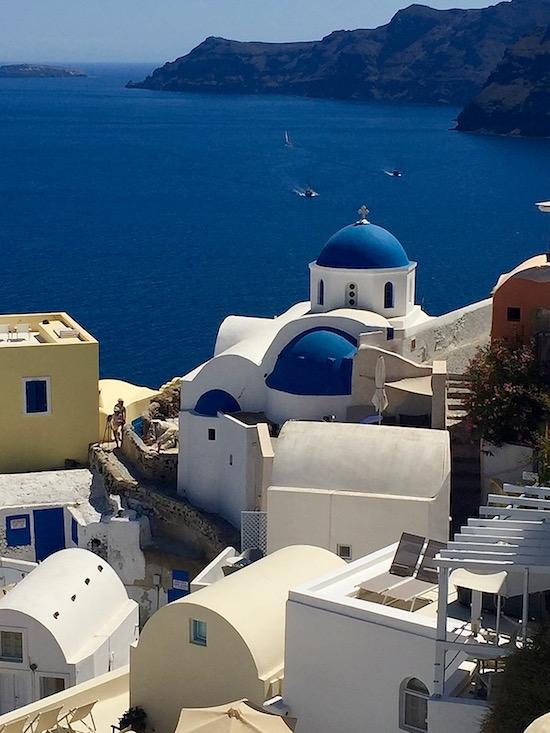 Santorini Greece Wandering Chocobo