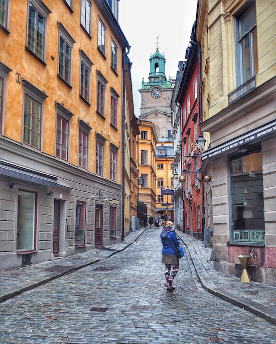 Travel to Stockholm, Sweden Wandering Chocobo